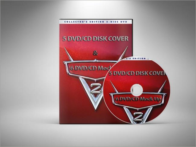 cd-dvd cover mockup bundle