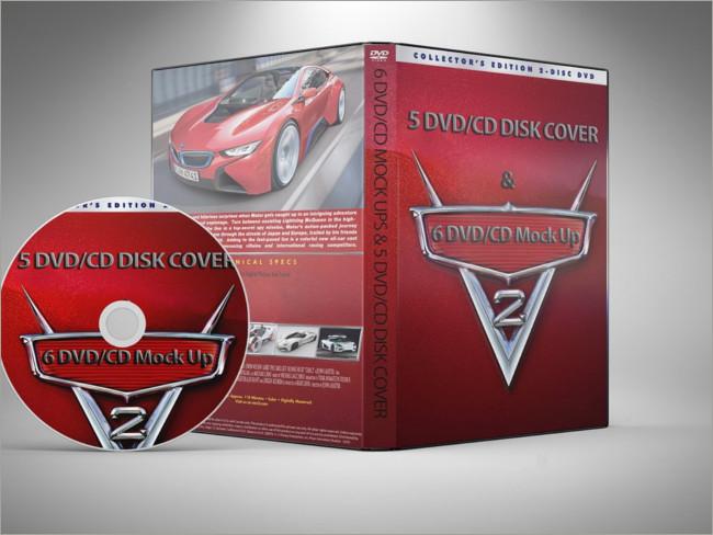 cd-dvd mockups