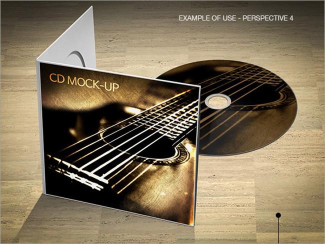cd mockup design