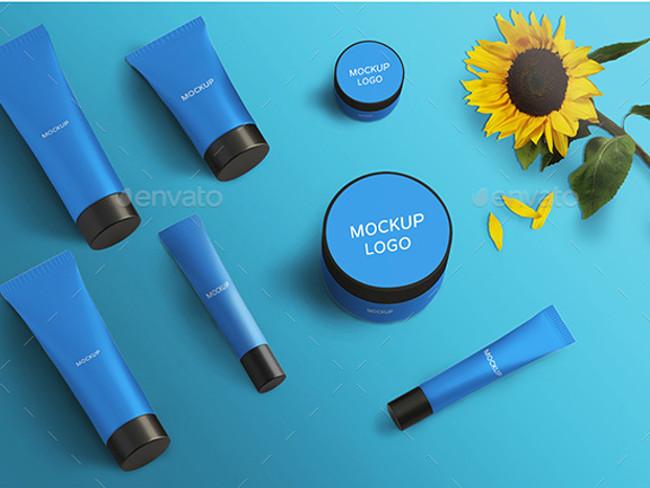 cosmetic product brandign mockup