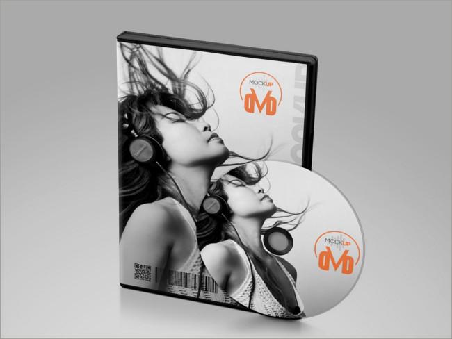 dvd cover mockup