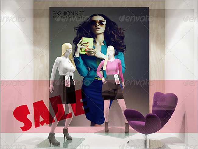 fashion store branding mockup