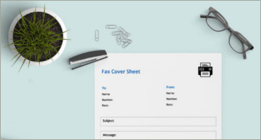 cover sheet templates