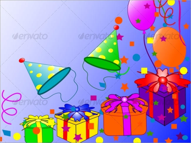 graphic river birth day background image