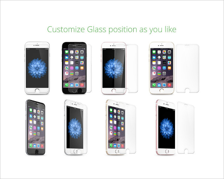 iPhone 6 PLus Glass Mockup