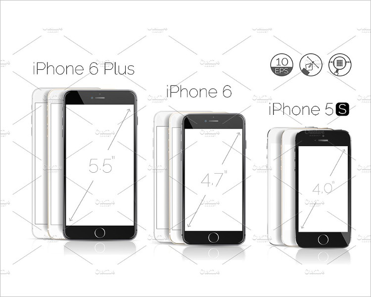 iPhone 6s Plus Object Mockup