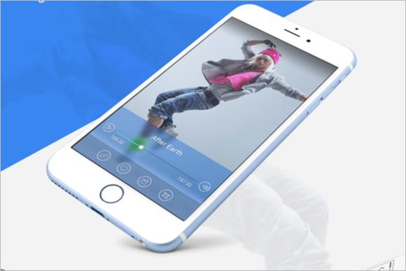 iPhone Mockup Free PSD Design