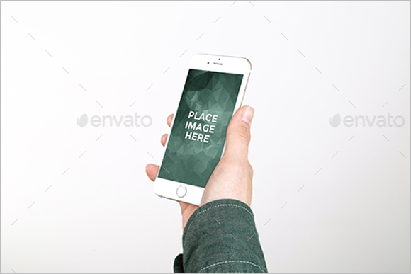 iPhone Mockup Template PSD