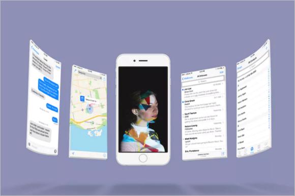 iPhone Screen Mockup Design