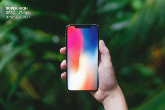 iPhone x Mockup Template