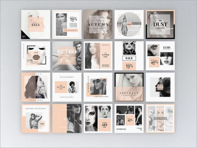 instragam fashion mockup