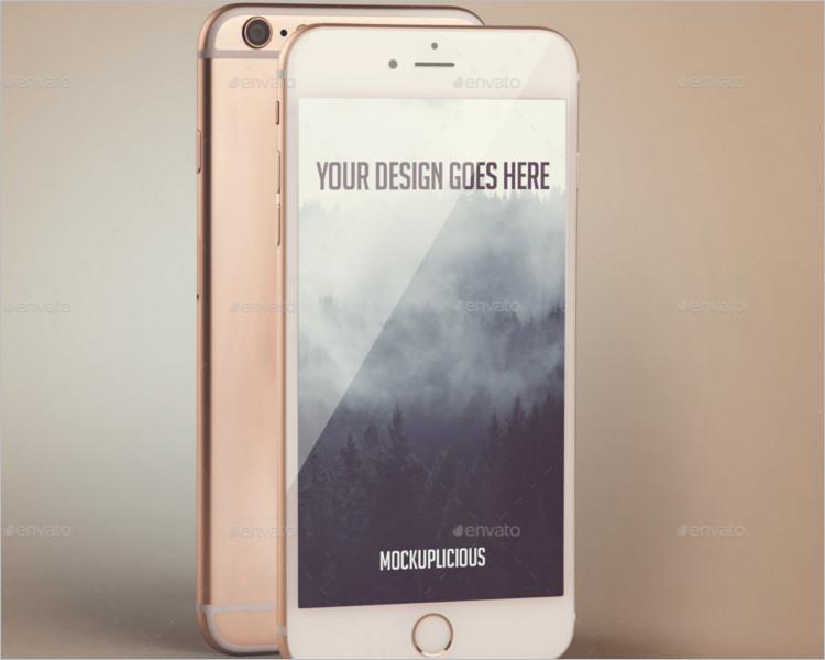 iphone 6s Branding mockup
