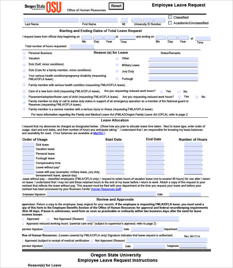 Employments Write Up Form Template - Free Word, Pdf Documents