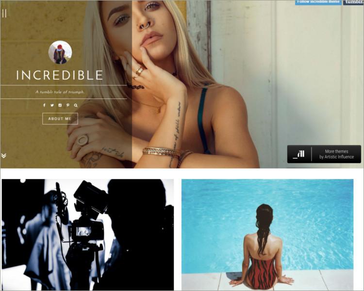 new tumblr theme