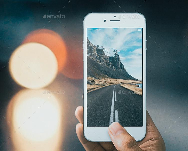photorealistic iPhone 6s Plus Mockup