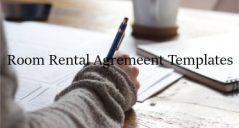 16+ Room Rental Agreement Templates