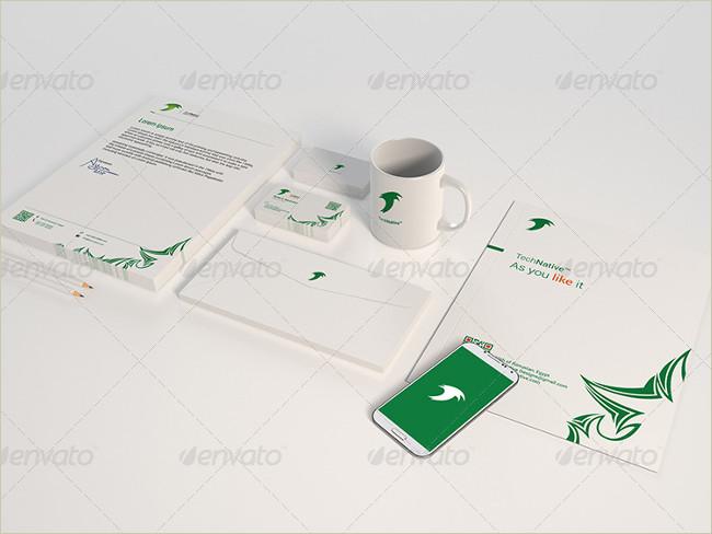 simple stationary item design