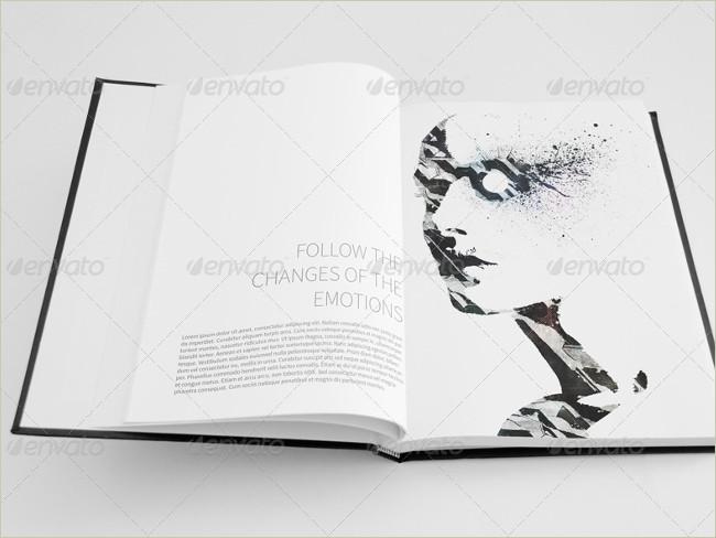 sketch book mockup set