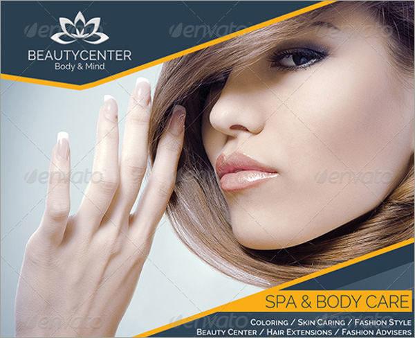 spa center advertise
