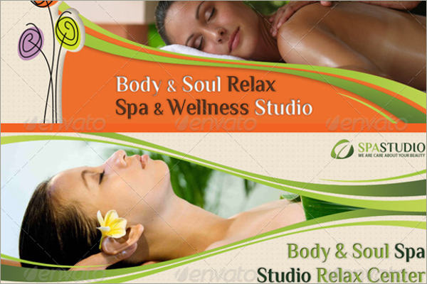 spa promotional facebook templates
