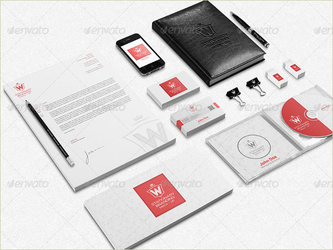 stationary branding collection