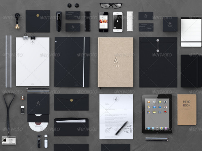top stationary branding collection