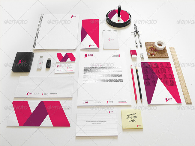 ultimate stationary branding mockup