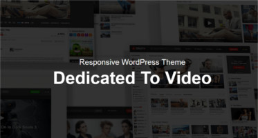 video WordPress Template