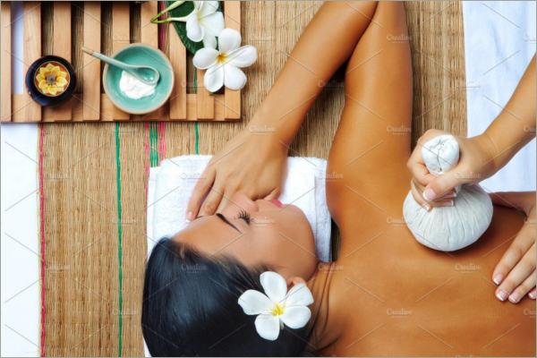 woman enjoying shoulder massage