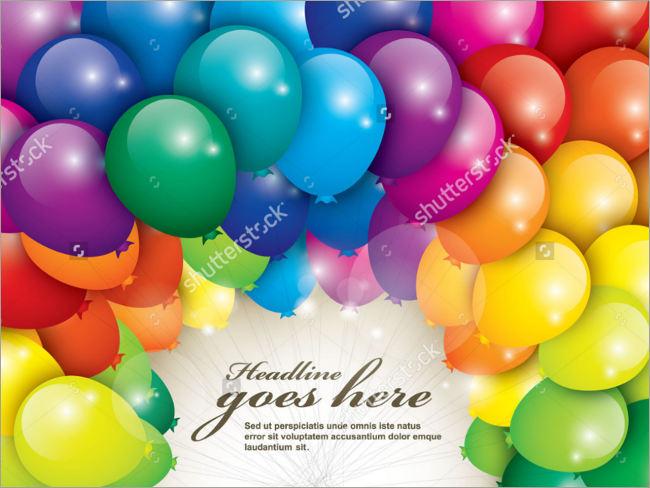 wonderfull psd birthday vector