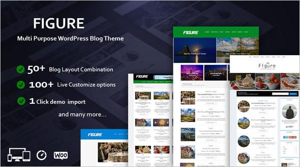 3 Column Clean WordPress Template