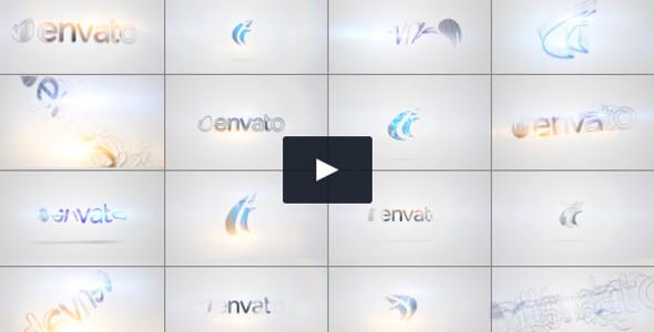 3D Clean & Minimal Quick Logo Video