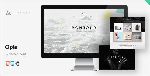 3D Comming Soon WordPress Template