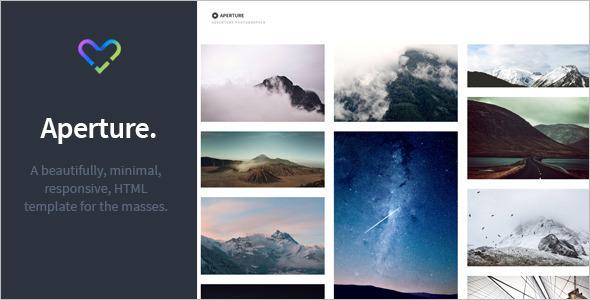 3D Photography WordPress Template