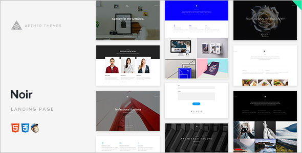 3D Specialty Pages WordPress Template