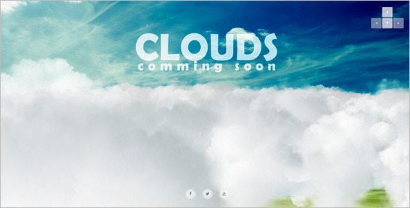 3d Interactive Coming Soon Page Template