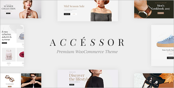 Accessories Shop WooCommece WordPress Template
