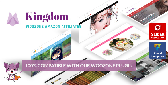 Affiliates Woocommerce WordPress Template