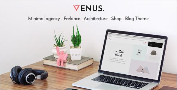 Agency Vintage WordPress Template