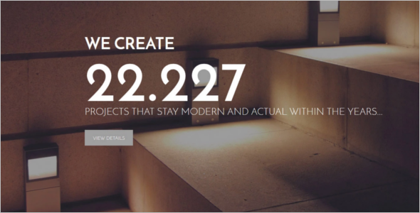 Architecture Scrolling WordPress Template