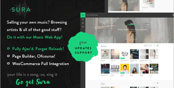 Artist Portfolio WordPress Themes and template