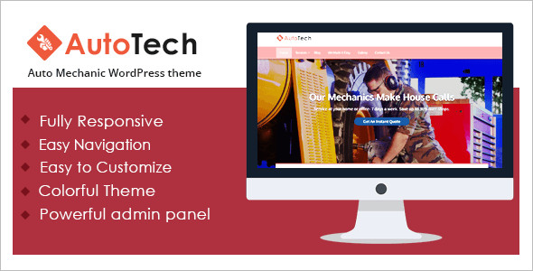 Auto Tech WordPress Theme