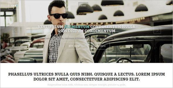 Automobiles Parts Website Template