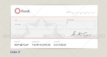 43+ Printable Cheque Templates