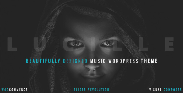 Beauty Ful Music WordPress Template