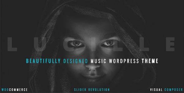 Beauty Ful Music WordPress Template