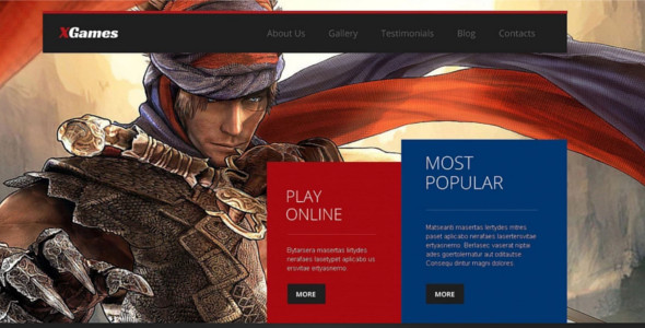 Best Gaming Themes & Templates