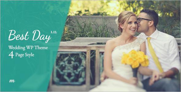 Best Wedding WordPress Template