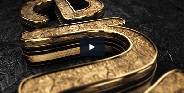 Black Gold v3 is a cinematic logo