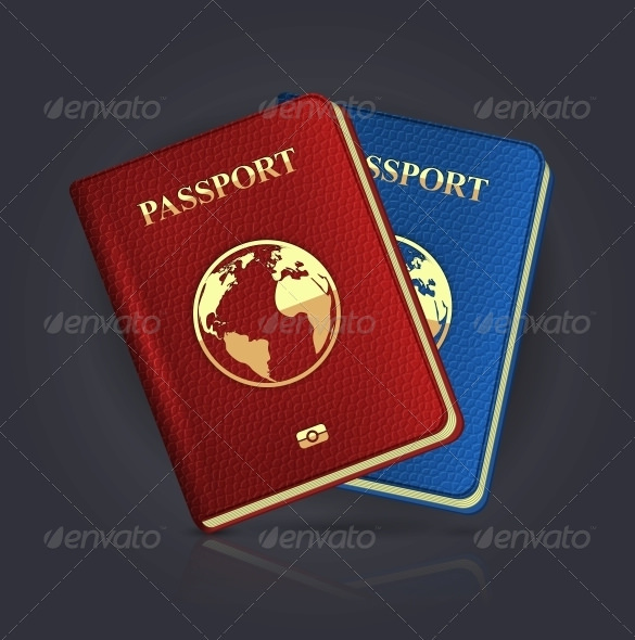Blank-Abroad-Passport-Template-EPS-Format-Download